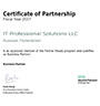Hewlett Packard Certificate of Partnership