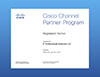 Cisco Partner Certificate